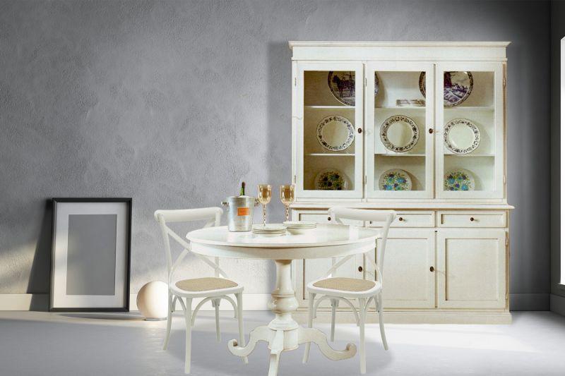 Credenza Moderna In Offerta : Offerta n credenza cristalliera in legno ante tavolo rotondo