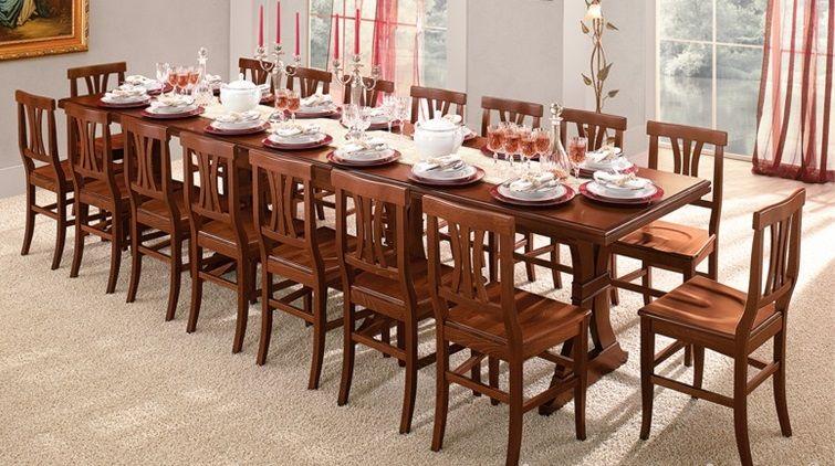 Credenza Cristalliera Arte Povera : Sala arte povera in legno con cristalliera credenza tavolo